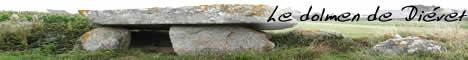 Le dolmen de Diévet à Plounéour-Trez