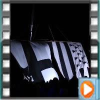 La nuit des étoile avec les plus grands drapeaux bretons au monde sur couleurs-bretagne, la vidéo du hissage.