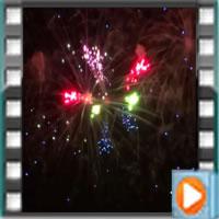 Le feux d'artifice de la nuit des étoile à tréflez sur couleurs-bretagne.